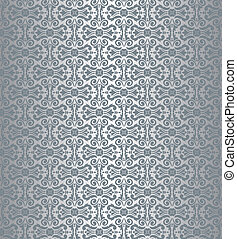 Silberne luxuriöse Tapete