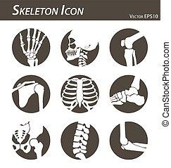 Skeleton Ikone.