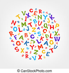 Sketch Rahmen mit Buchstaben für Ihr Design.