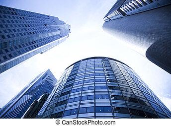 Skyline von singapore.