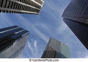 Skyscraper abstrakt.