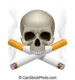smoking., nein