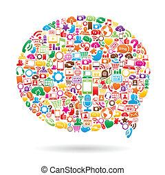 Social Media Rede Blase