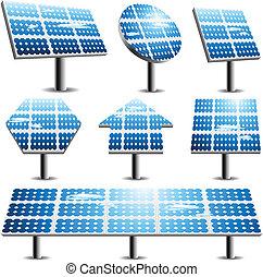 Solarpaneele.