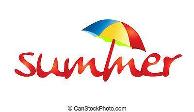 sommerferien, -, schatten, sonne
