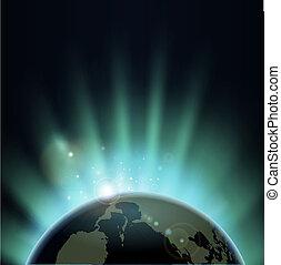 Sonnenausbrüche auf der ganzen Welt