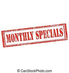 specials-stamp, monatlich