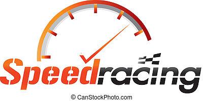 Speed Racing Logo.