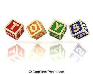 Spielzeugblöcke