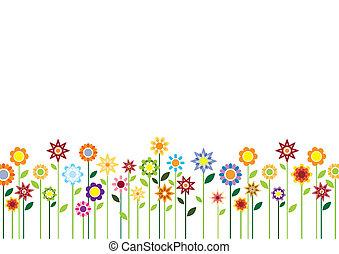 Spring Blumenvektor