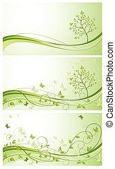 Spring Green Banner. Fertig