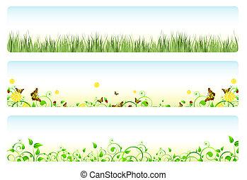 Springbanner
