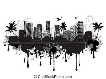 Stadtbild.