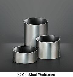 Stahlrohre, Vektor