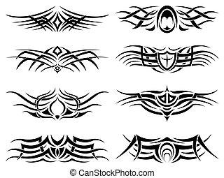 Stammes-Tattoopack