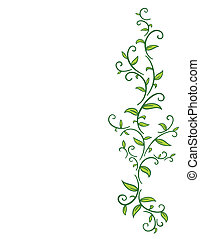 Stammesbaum mit Blättern