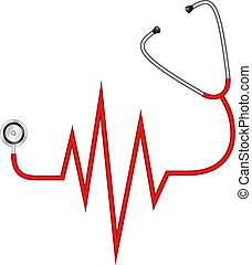 Stethoskop - Elektrokardiogramm