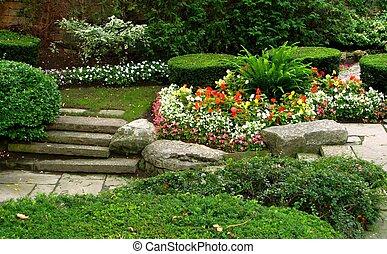 Stiller Garten