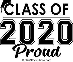 stolz, klasse, banner, 2020