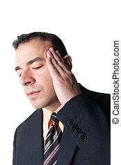 Stress Kopfschmerzen.