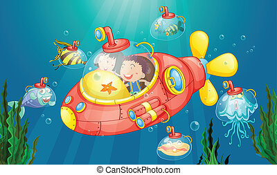 Submarine Abenteuer.