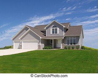 Suburban home 1.