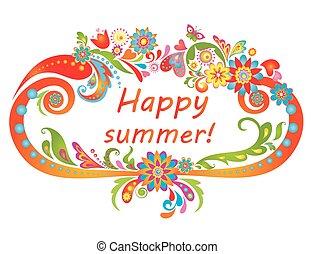 summer!, glücklich