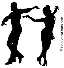 Tänzer.