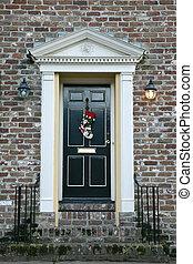 Tür in Charleston.