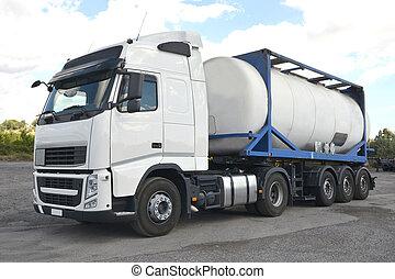 Tankwagen.