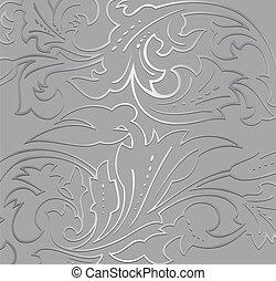 Tapeten-Silber-Hintergrund. Vector