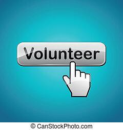 taste, vektor, freiwilliger