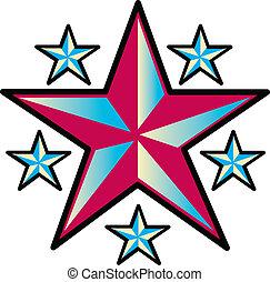 Tattoo-Design-Stars-Clip-Kunst