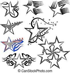 Tattoo Star Design.