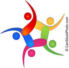Team 5 hat ein Logo