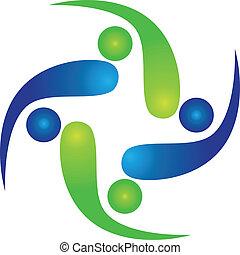 Team von Swooshes Logo