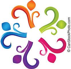 Teamwork Human-Logo