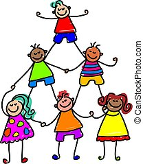 Teamwork-Kinder