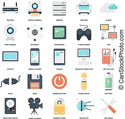 Technologie-Icons