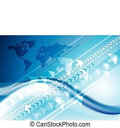 Technologie-Internet-Verbindung