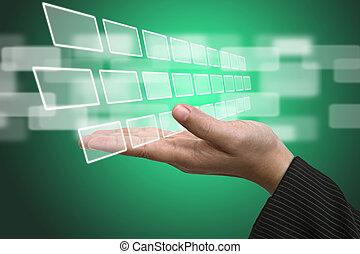 Technologieinput-Interface