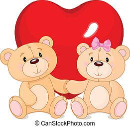 Teddy ist verliebt.