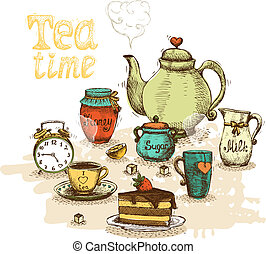 Teezeit bleibt Leben