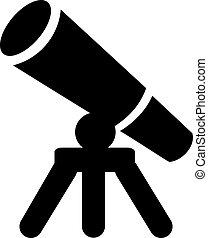 Teleskop-Ikone.