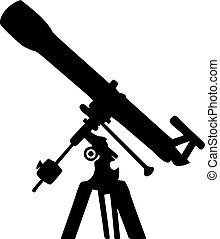 Teleskop Silhouette.
