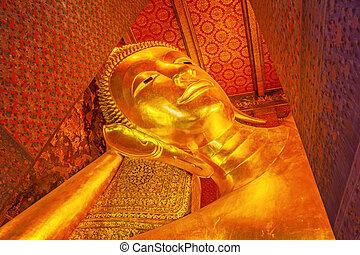 tempel, thailand., phra, vimolmangklararm, wat, chetupon, pho), (wat