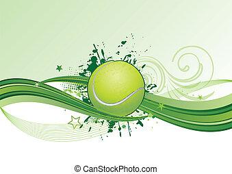 Tennis Hintergrund