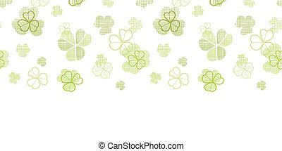 Textiltextilien-Linien-Kunst horizontaler, nahtloser Muster Hintergrund.
