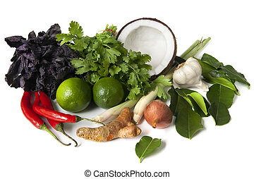 Thai-Essen-Zutaten