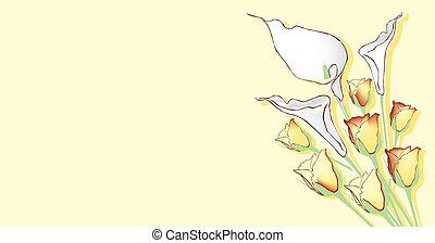Theme mit Blumen